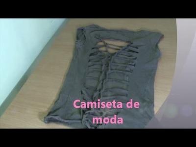 Camiseta de moda - Camiseta de nudos