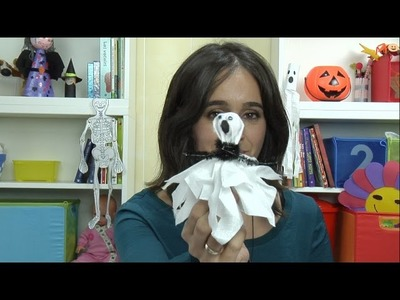 Cómo hacer chupa chups de fantasmas para Halloween