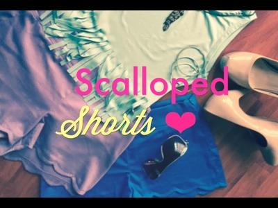 Cómo hacer tus shorts con Ondas (scallops)
