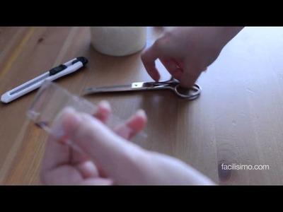 Cómo hacer una pulsera con una botella de plástico | facilisimo.com