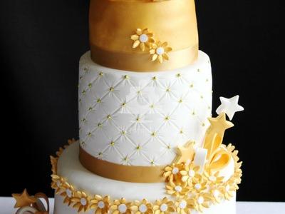 Como montar una tarta fondant de varios pisos