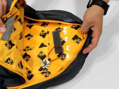 Como poner luz a tu mochila o bolsa. Tutoriales - Hablobajito