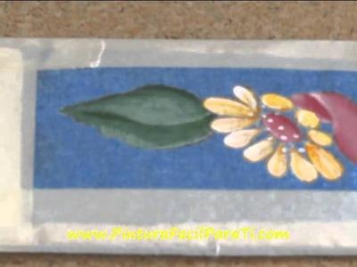 Pintar Manteles 5 - Pintura Facil Para Ti.wmv