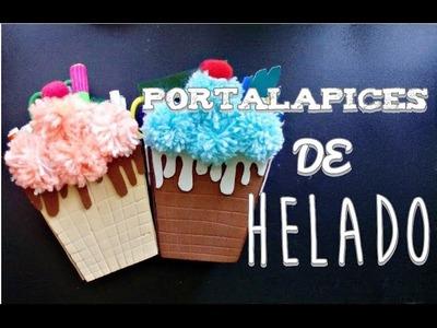 Portalapices de Helado (Manualidad 171)