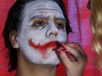 The Joker (Heath Ledger) tutorial maquillaje - make up tutorial