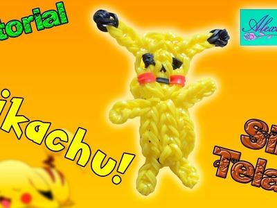 ♥ Tutorial: Pikachu de gomitas en 3D (sin telar) ♥