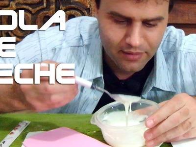 Como hacer cola usando leche