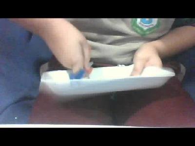 Como hacer Manualidades con platos desechables y una lija