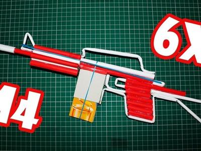 Como hacer un Rifle de Papel que Dispare - (M4)