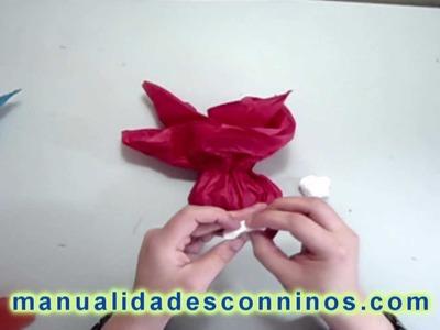 Como hacer una bolsa de golosinas para decorar