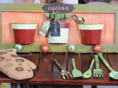 Decapado - Decoupage - Objetos Reciclados para Cocina - Herminia Devoto - Gabriela Orio