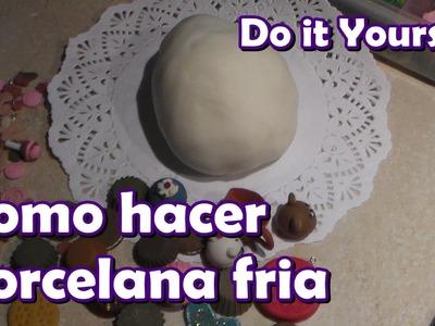 DIY Como hacer porcelana fría
