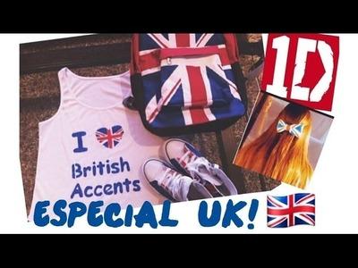 ESPECIAL UK! Personaliza tu ropa y accesorios con la bandera de UK♥