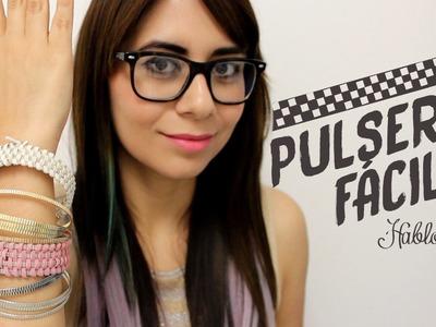 Ideas para hacer pulseras. DIY Pulseras - Hablobajito