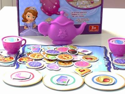 La Tetera Mágica de la Princesa Sofía de Disney. Juego de mesa.