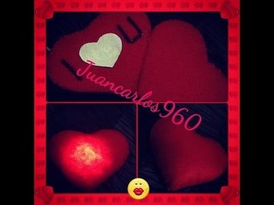Manualidades: Corazón con luz - Juancarlos960