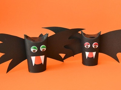 Manualidades para Halloween. Vampiro cartulino