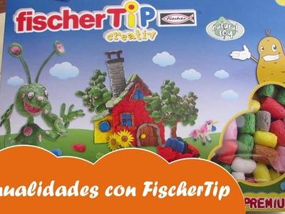 Manualidades tips de fécula de patata Fischer Tip - Mundo juguetes, juguetes para niños