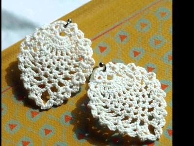 Modelos Aretes Tejidos a Crochet
