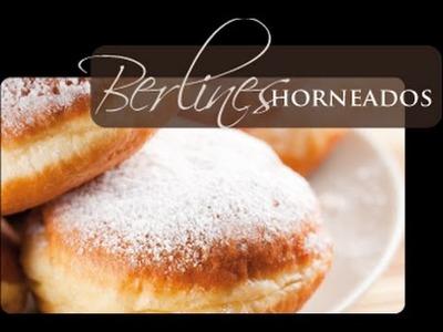 Receta: Berlines Al Horno  - Silvana Cocina Y Manualidades