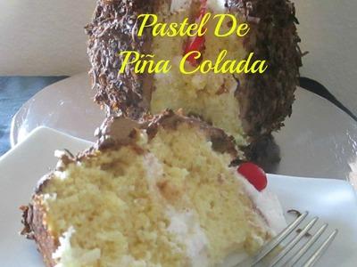 Receta Pastel De Piña Colada Delicioso y Muy Fácil!! - Madelin's Cakes
