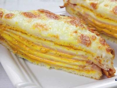 Sandwich de Pollo y Queso con Salsa Gaucha Ybarra