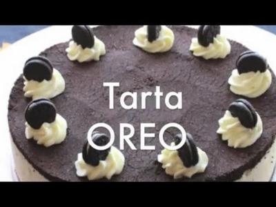 Tarta OREO sin Horno - Recetas de Tartas