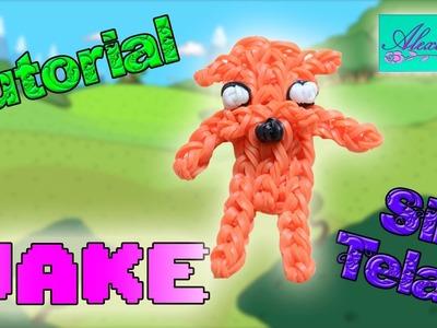♥ Tutorial: Jake de Hora de Aventuras de gomitas (sin telar) ♥