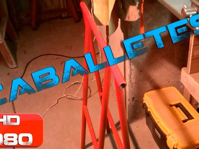 Tutorial - Un par de Caballetes - Build a pair of sawhorses