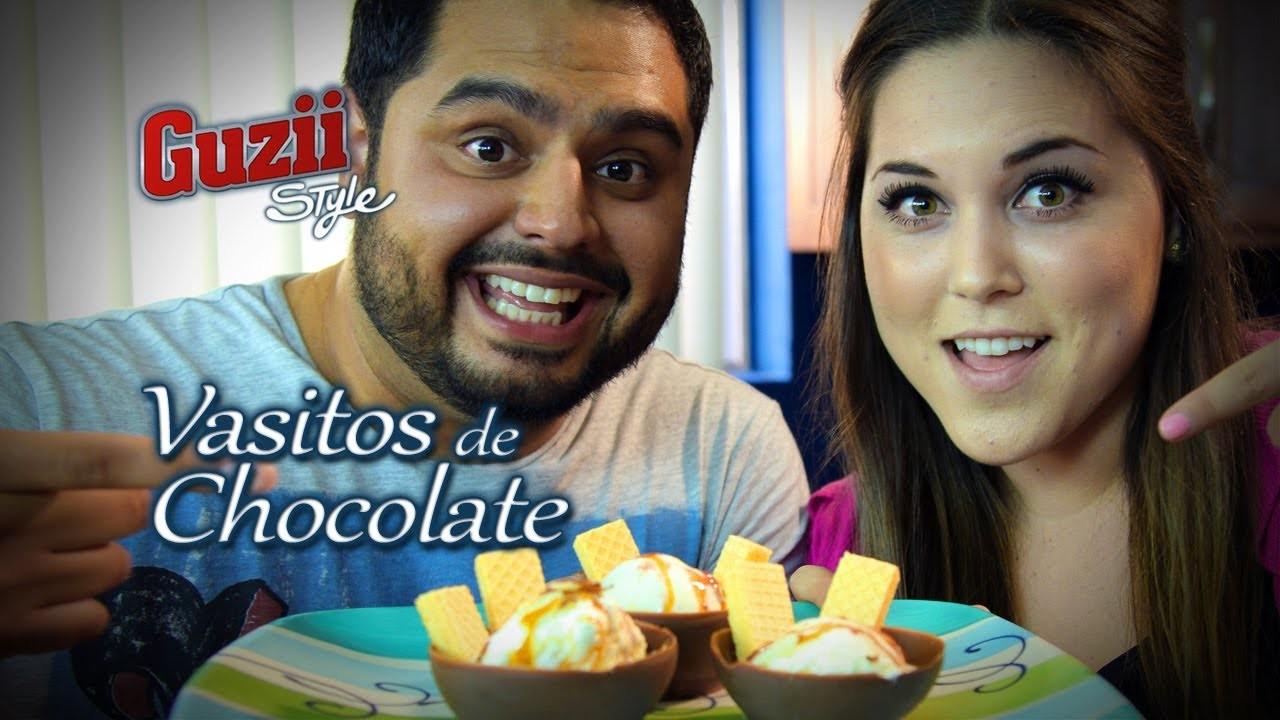 Vasitos de Chocolate - Guzii Style y Karla Celis