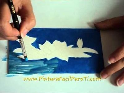 1 Manualidades Goma Eva Foamy Nenufar - Pintura Facil Para Ti.wmv