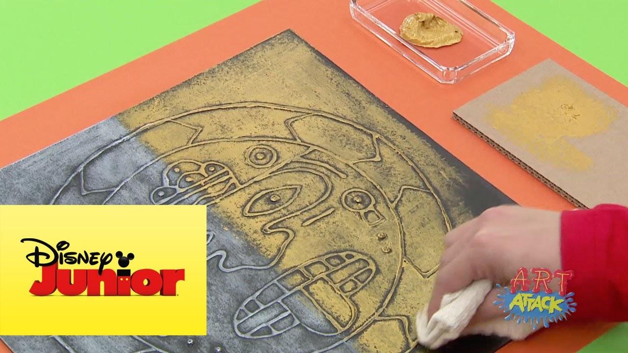 Art Attack: Rostro Azteca