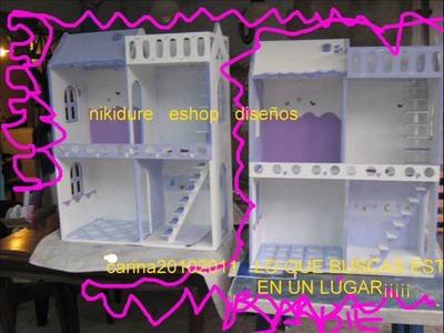 CASITAS PARA MUÑECAS BABIE NIKIDURE1124101241