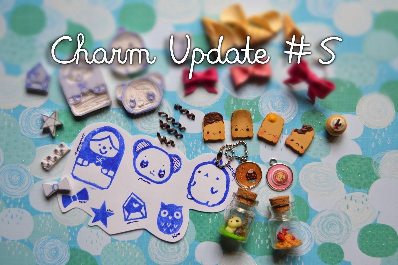 Charm Update #5 ~  Sellos y Accesorios de Arcilla ❁