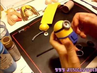 Como hacer fofucho de los Minions 3