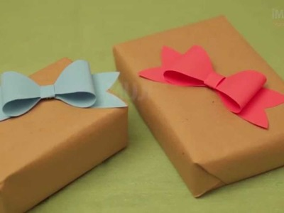 Cómo hacer un moño fácil | Moños para regalos | @iMujerHogar