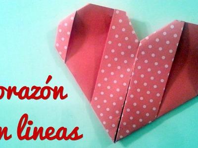 Corazón con Lineas | Manualidades para regalar