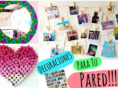 Decora tu pared! ♡  DIY