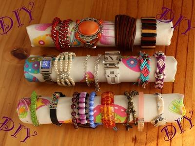 DIY: ¡Haz un organizador para tus pulseras y relojes! (muy fácil)