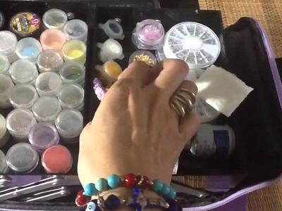 Mis básicos para reconstrucción de uñas