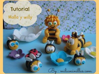 Tutorial Abeja Malla y Willy