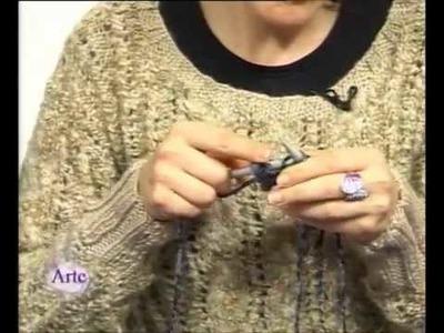 Hilados LHO en ARTEZ TV. Cómo tejer una levita a dos agujas.