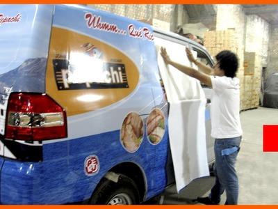 PUBLICIDAD VEHICULAR - MINIVAN,CAMIONES,CAMIONETAS - LIMA  PERÚ   Car Wrap - applying vinyl vehicle