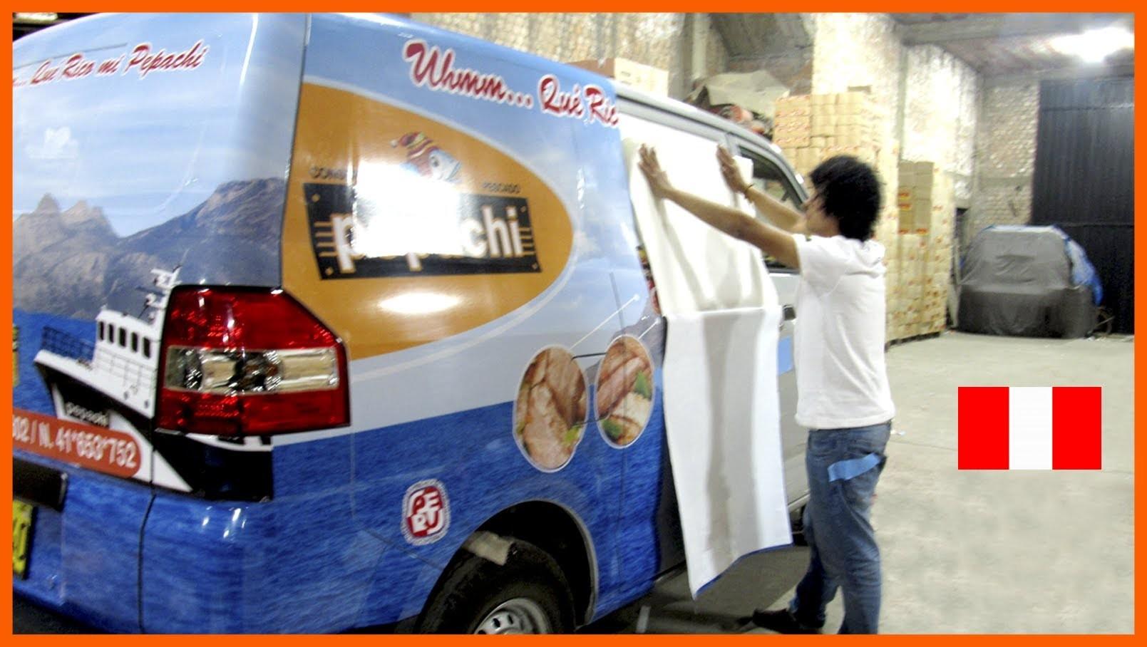 PUBLICIDAD VEHICULAR - MINIVAN,CAMIONES,CAMIONETAS - LIMA  PERÚ | Car Wrap - applying vinyl vehicle