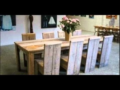 10 Ideas modernas para reciclar sillas de madera