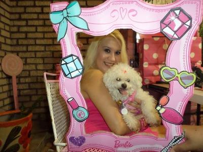 ♥ Barbie Portaretratos Grande Para Mi Fiesta De Cumpleaños  ♥