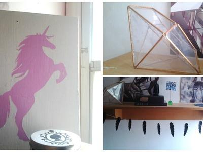 ¡Decora tu habitación! ¡3 DIYs Bonitos y Fáciles! Inspirados en Tumblr