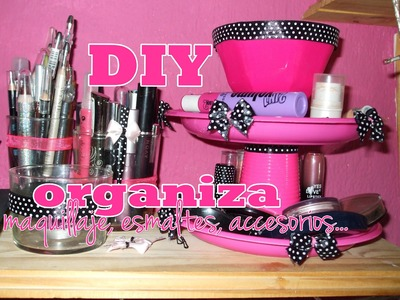 ¡NUEVA SECCIÓN! -Decora tu cuarto ♥ DIY ♥ (Expositor de accesorios,esmaltes,etc)