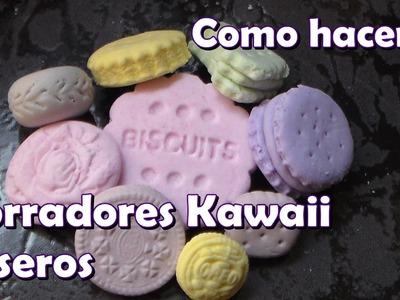 Como hacer borradores Kawaii caseros