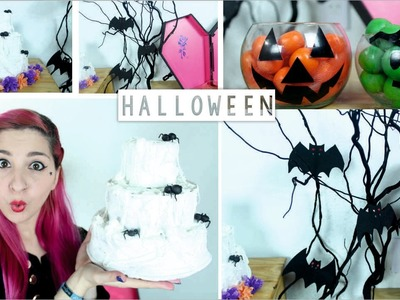 DECORACIÓN PARA HALLOWEEN ✩ tres ideas fáciles - Ann Look